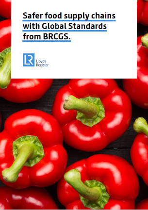 Safer food supply chains with BRCGS