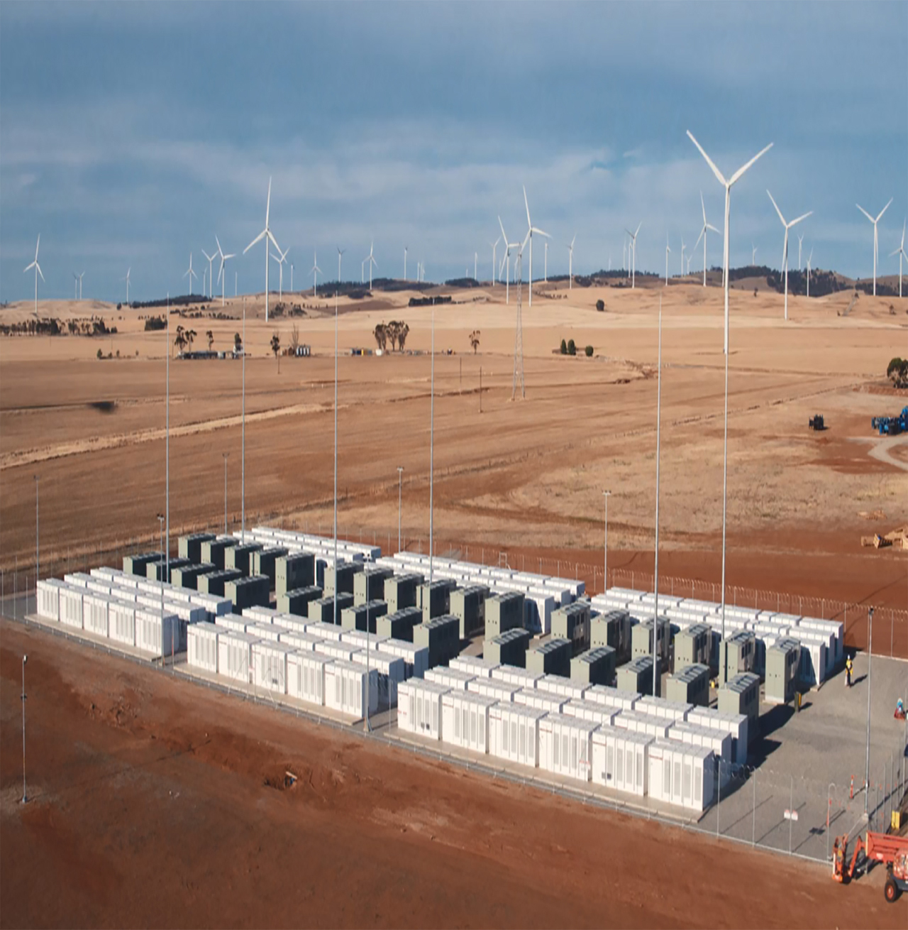 Hornsdale power reverse - wind farm and energy storage