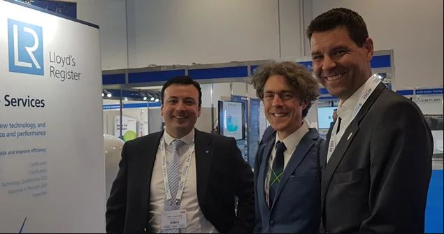 LR experts share research at Offshore Wind Energy 2017