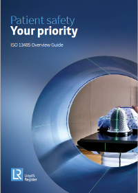 ISO13485 overview guide cover