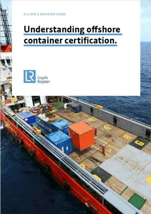 LR Offshore Container Certification Guide