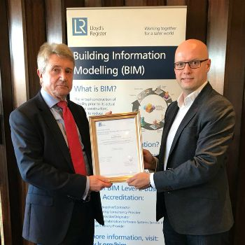 LR awards Royal HaskoningDHV BIM Level 2 Accreditation