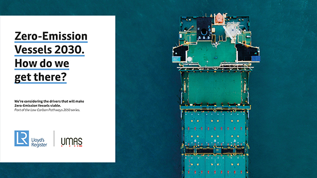 Zero-emission vessels 2030 report cover