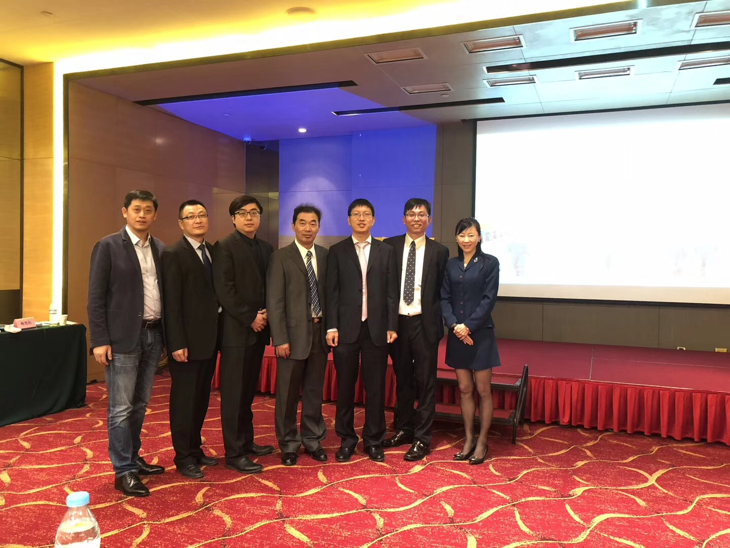 Attendees at safety mangemnet event china