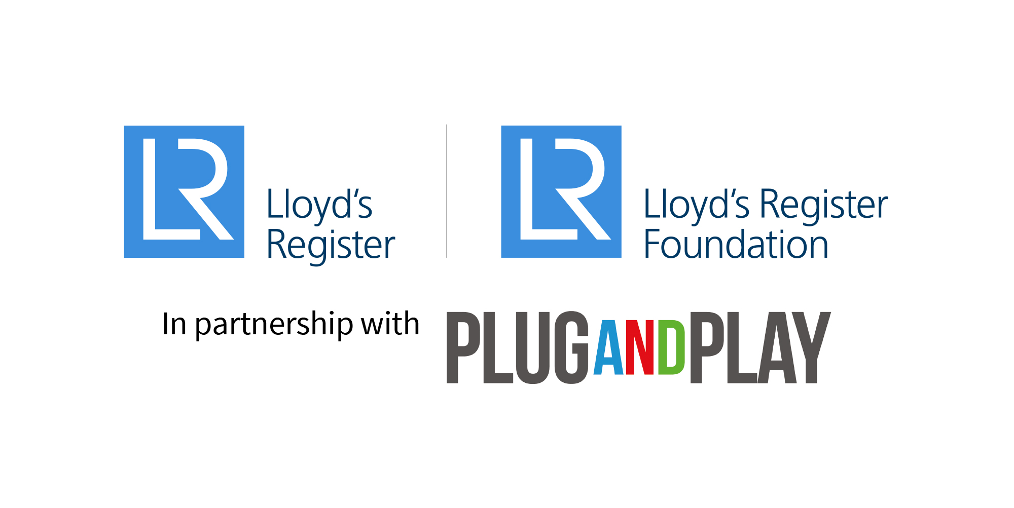 Safety Accelerator sponsor logos - LR, LRF and Plug And Play