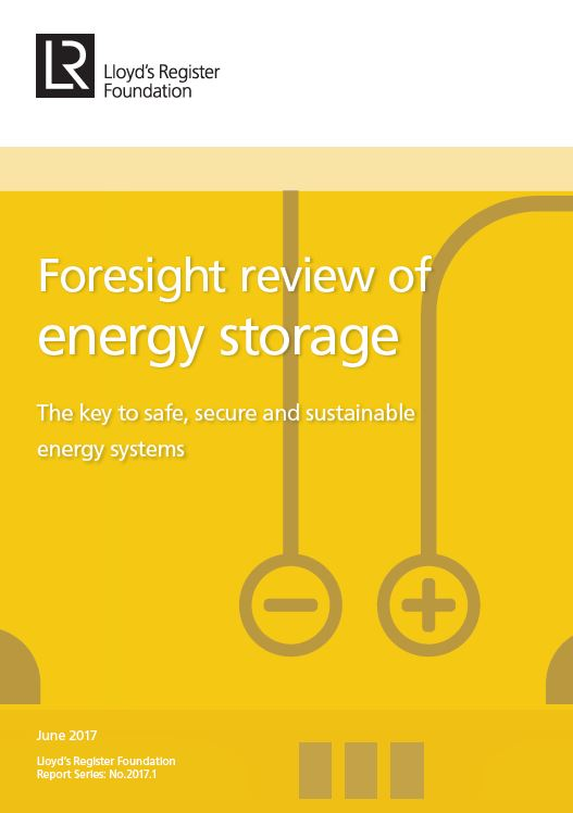Foresight review of energy storage cover