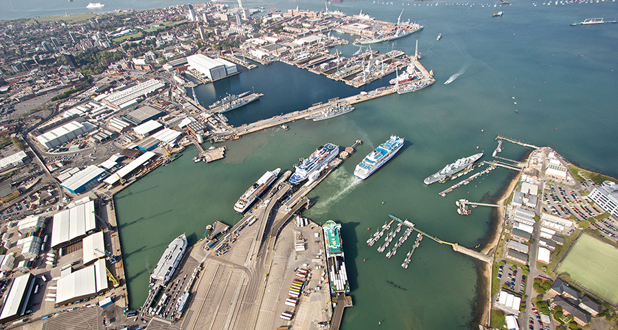 aerial_view_of_portsmouth_and_ferry_terminals