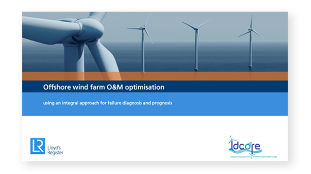 offshore wind farm optimisation presentation cover